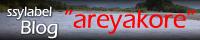 """ブログssylabel's """"areyakore"""""""